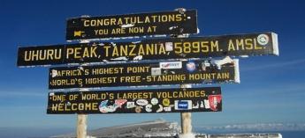 18 days Mt. Kilimanjaro